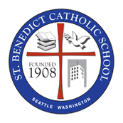 St. Benedict Catholic School, Seattle - Logo